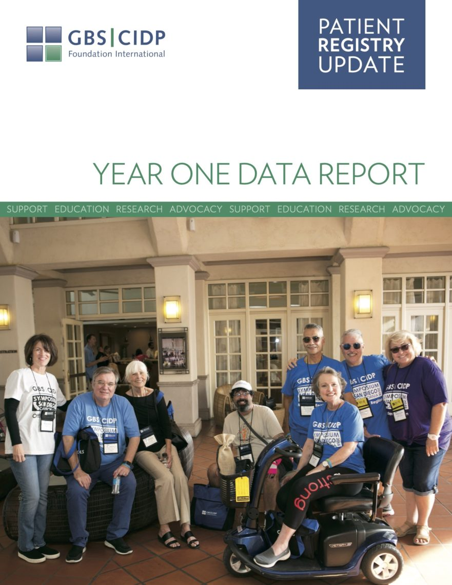 GBS CIDP Patient Registry Annual Report Cover